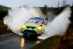 Khalid Al Qassimi and Michael Orr, Ford Focus RS WRC 07, BP Ford Abu Dhabi World Rally Team