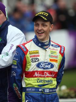 Podium: third place Mikko Hirvonen