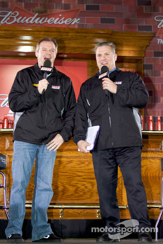 kenny wallace and steve burns at daytona shootout