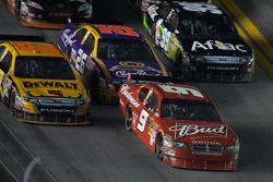 Kasey Kahne, Richard Petty Motorsports Dodge, Matt Kenseth, Roush Fenway Racing Ford, Jamie McMurray, Roush Fenway Racing Ford