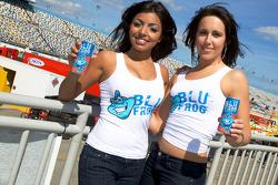 The charming Blu Frog girls