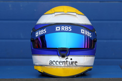 Helmet, Nico Rosberg, WilliamsF1 Team