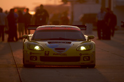 #3 Corvette Racing Chevrolet Corvette C6-R: Johnny O'Connell, Jan Magnussen, Antonio Garcia heads to pitlane