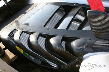 Detail of the Audi Sport R15 TDI