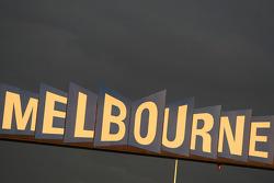 F1: Melbourne sign