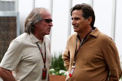 Jacques Laffite and Nelson Piquet