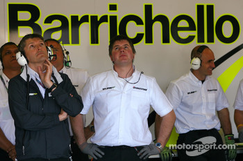 Nick Fry, Brawn GP, Chief Executive Officer