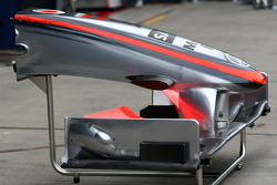 McLaren Mercedes, MP4-24, nose