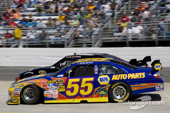 Michael Waltrip, Michael Waltrip Racing Toyota gets loose and spin