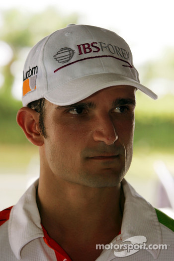 Vitantonio Liuzzi Force India F1 Third Driver