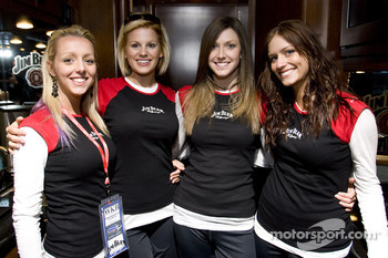 The lovely Jim Beam girls