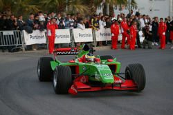 Speed demo in Portimao: Filipe Albuquerque, driver of A1 Team Portugal