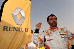 FIA's Vice-President for sport and 14-time Middle East Rally Champion Mohamed Ben Sulayem prepares for this ride in the R28
