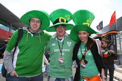 A1 Team Ireland fans