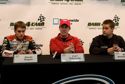 Press conference: David Ragan, Carl Edwards and Ricky Stenhouse Jr.