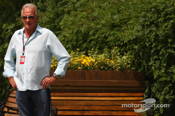 John Button, father of Jenson Button, Brawn GP