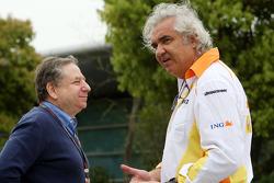 Jean Todt, Scuderia Ferrari, Ferrari, Flavio Briatore, Renault F1 Team, Team Chief, Managing Director