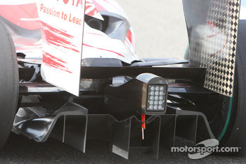 Toyota Racing, rear, diffuser, detail