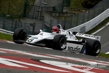 #6 Richard Eyre (GB) Williams FW08-3, RJM Motorsport (1982)