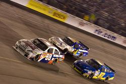 Dale Earnhardt Jr., Hendrick Motorsports Chevrolet, John Andretti, Earnhardt Ganassi Racing Chevrolet, Joe Nemechek, NEMCO Motorsports Toyota