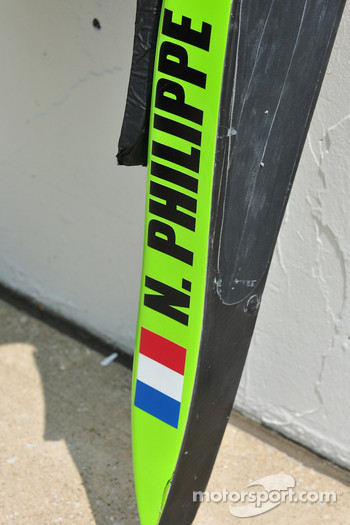 Nelson Phillipe's, HVM Racing head rest