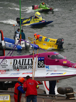 #36 class 2 Team Dailly: Frédéric Bagot, Alain Dailly, Jacques Morin, Martial Kauffmann
