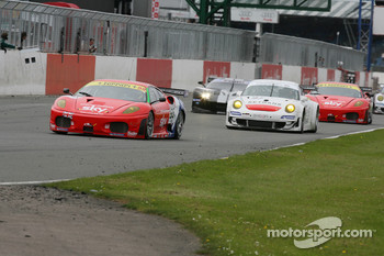 #55 CRS Racing Ferrari 430 GT2: Chris Niarchos, Tim Mullen