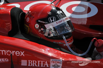 Scott Dixon, Target Chip Ganassi sports a new helmet