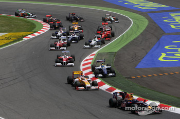 Start: Mark Webber, Red Bull Racing