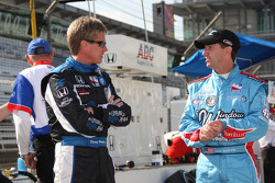 Davey Hamilton, Dreyer & Reinbold Racing and John Andretti, Richard Petty/Dreyer & Reinbold
