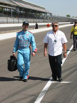 John Andretti, Richard Petty/Dreyer & Reinbold with uncle Mario