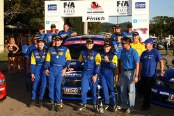 Cody Crocker and Ben Atkinson take out first for round 2 of the FIA Asia-Pacific Championship