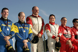 Cody Crocker and Ben Atkinson, Motor Image Racing, Simon Evans and Sue Evans, Katsuhiko Taguchi and Mark Stacey, MRF Tyres