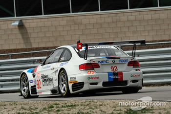 #92 BMW Rahal Letterman Racing Team BMW E92 M3: Tom Milner, Dirk Muller