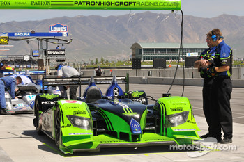 #9 Patron Highcroft Racing Acura ARX-02a Acura