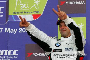 Podium, 3rd, Jorg Muller,  BMW Team Germany, BMW 320si