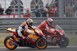 Casey Stoner, Ducati Marlboro Team, Dani Pedrosa, Repsol Honda Team