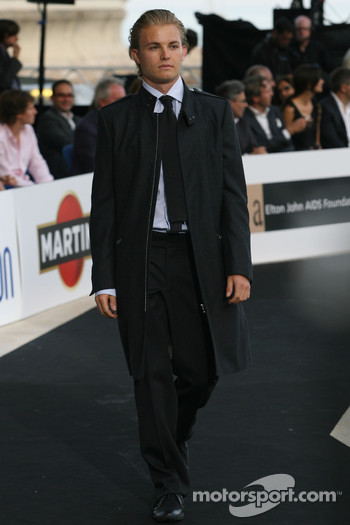 Nico Rosberg, Williams F1 Team at the Fashion show