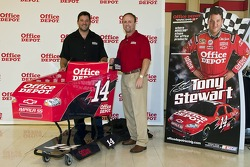 Tony Stewart and Eddie Bell unveil the
