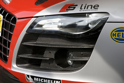 Detail of the #99 Phoenix Racing Audi R8 LMS