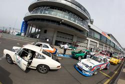 #34 Porsche 911: Siegfried Lapawa, Michael Roock, #62 Porsche 935: Wolfgang Schrey, Michael Schrey