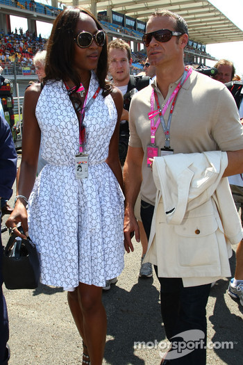 Naomi Campbell, Supermodel and her boyfrined