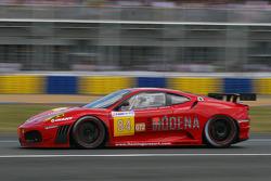 #84 Team Modena Ferrari F430 GT: Pierre Ehret, Leo Mansell, Roman Rusinov