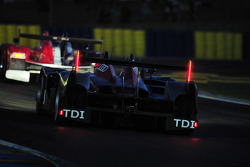 #14 Team Kolles Audi R10 TDI: Narain Karthikeyan, Charles Zwolsman, André Lotterer