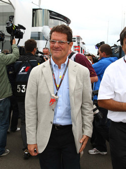 Fabio Capello England Football team manager