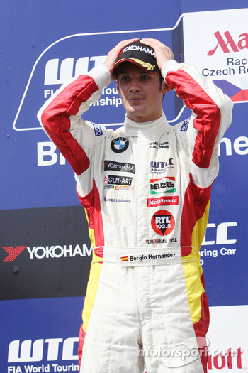 Sergio Hernandez, BMW Team Italy-Spain, BMW 320si