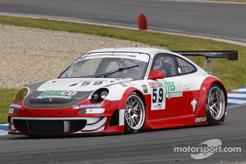 #59 Trackspeed Porsche 997 GT3 RSR: Jorg Bergmeister, David Ashburn