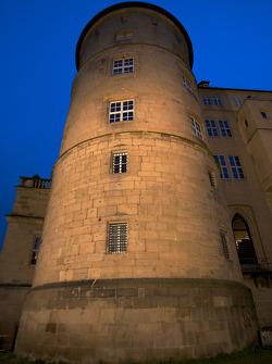 Stuttgart by night: Altes Schloss (Old Castle)