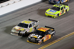 Jeff Burton, Richard Childress Racing Chevrolet, Kevin Harvick, Richard Childress Racing Chevrolet, Paul Menard, Yates Racing Ford
