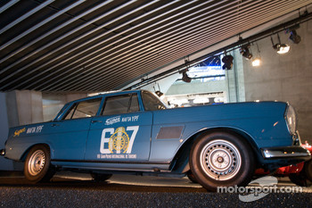 Silver arrows: 1963 Mercedes-Benz 300 SE rally car